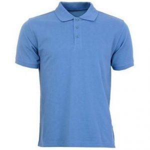 Camiseta pique cuello camisero